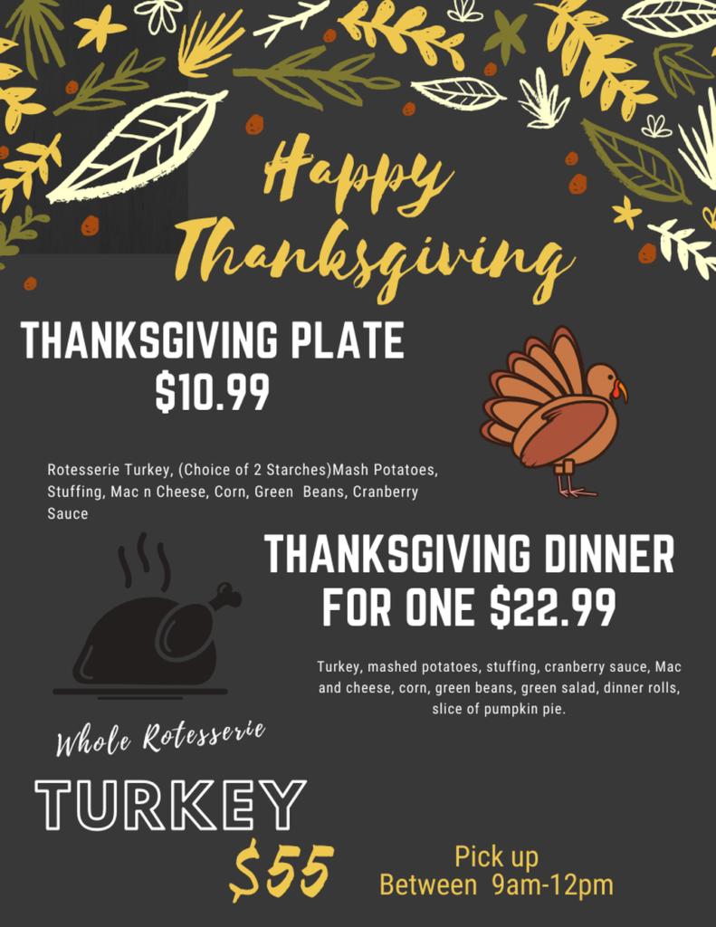 Thanksgiving Waimea Kamuela Plate Lunch